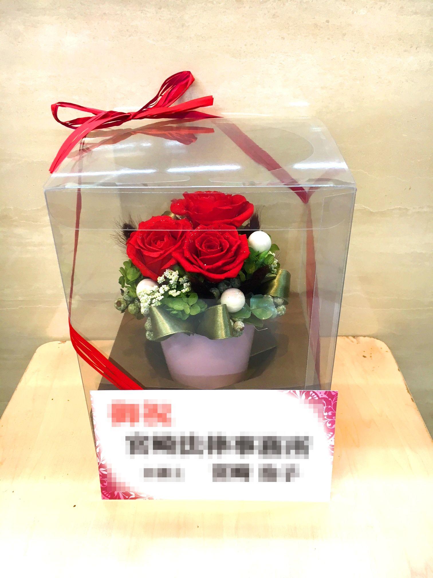 【お花納品事例8】東京都千代田区の法律事務所様にプリザーブドフラワーを納品しました!