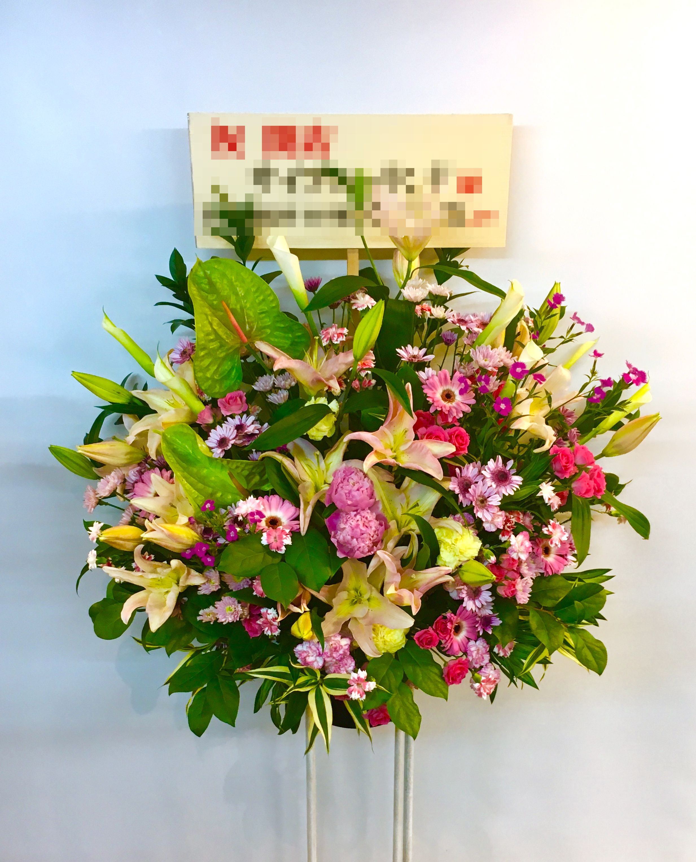 【お花納品事例20】横浜市関内の商業施設にスタンド花を配達しました!