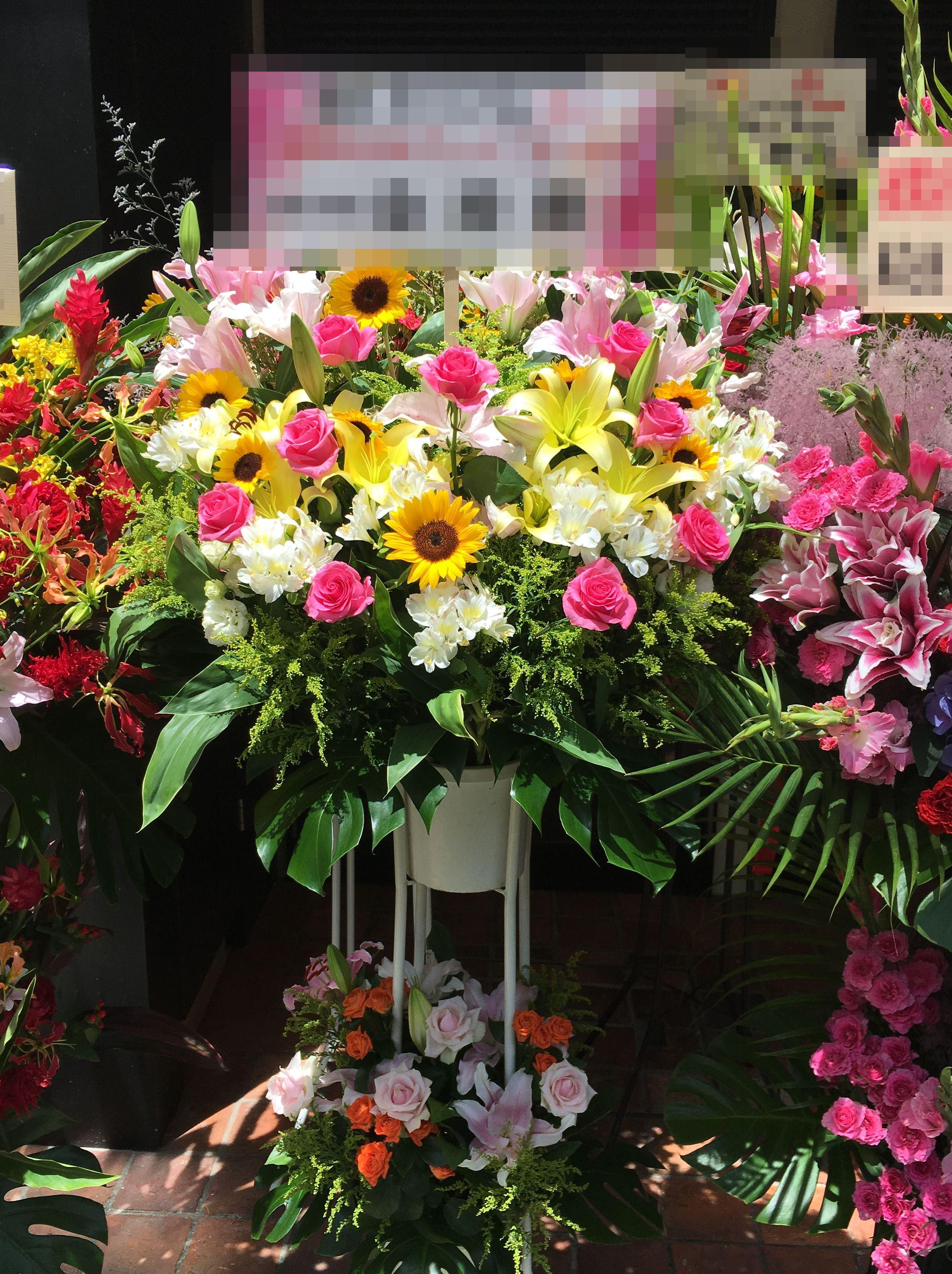 【ナオ花屋の納品事例88】横浜市関内福富町の法人企業様へアレンジメントを配達しました!