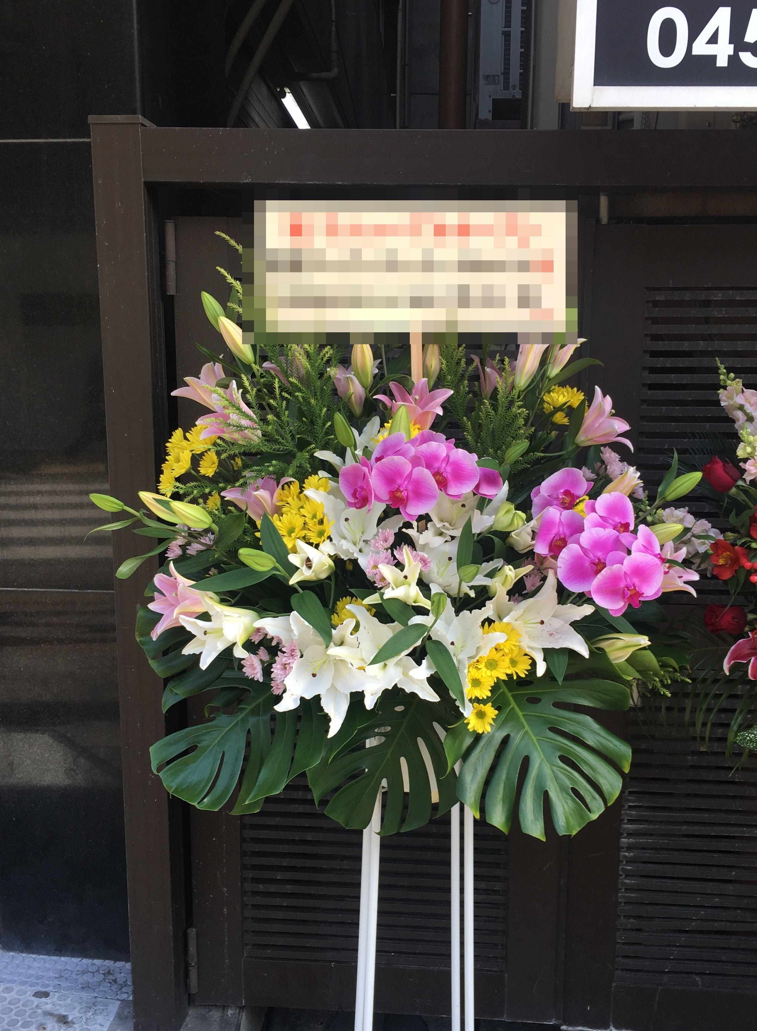 【ナオ花屋の納品事例195】横浜市関内駅前セルテ様へスタンド花を配達しました!