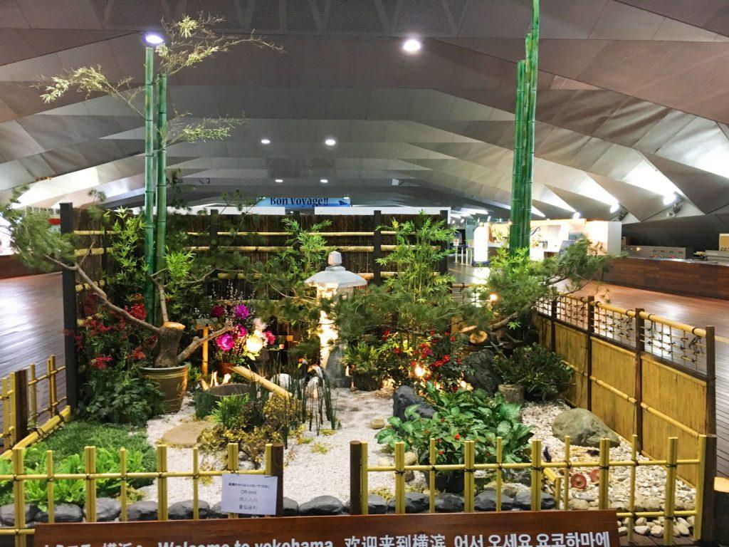 04正月日本庭園ディスプレイ