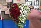 横浜市南幸へバラの花束を配達しました!【横浜花屋の花束・スタンド花・胡蝶蘭・バルーン・アレンジメント配達事例463】