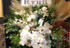 南区役所内横浜市南公会堂へ花束を即日当日配達しました!【横浜花屋の花束・スタンド花・胡蝶蘭・バルーン・アレンジメント配達事例473】
