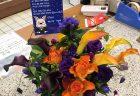 パシフィコ横浜へオリジナルアレンジメントを配達しました!【横浜花屋の花束・スタンド花・胡蝶蘭・バルーン・アレンジメント配達事例467】