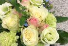 壺花(壇上花)を即日当日配達しました。【横浜花屋の花束・スタンド花・胡蝶蘭・バルーン・アレンジメント配達事例517】