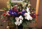 横浜市関内へ花束を即日当日配達しました。【横浜花屋の花束・スタンド花・胡蝶蘭・バルーン・アレンジメント配達事例533】