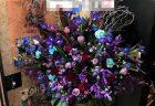 横浜市鶴屋町へ開店祝いスタンド花を配達しました。【横浜花屋の花束・スタンド花・胡蝶蘭・バルーン・アレンジメント配達事例553】