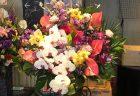 関内福富町へスタンド花を即日当日配達しました。【横浜花屋の花束・スタンド花・胡蝶蘭・バルーン・アレンジメント配達事例549】