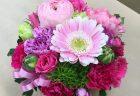 横浜市関内へ花束を即日当日配達しました。【横浜花屋の花束・スタンド花・胡蝶蘭・バルーン・アレンジメント配達事例547】