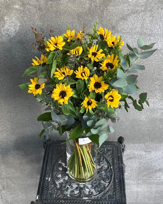 花瓶付き花束②
