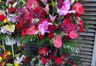 モーションブルーヨコハマへフラワーアレンジメントを配達しました。【横浜花屋の花束・スタンド花・胡蝶蘭・バルーン・アレンジメント配達事例605】