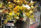 横浜市関内馬車道へスタンド花を即日当日配達しました。【横浜花屋の花束・スタンド花・胡蝶蘭・バルーン・アレンジメント配達事例629】