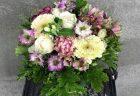 横浜市関内へフラワーアレンジメントを即日当日配達しました。【横浜花屋の花束・スタンド花・胡蝶蘭・バルーン・アレンジメント配達事例630】