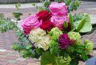 横浜市関内へ胡蝶蘭を即日当日配達させていただきました。【横浜花屋の花束・スタンド花・胡蝶蘭・バルーン・アレンジメント配達事例662】