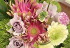 横浜市中区へバラの花束を即日当日配達させていただきました。【横浜花屋の花束・スタンド花・胡蝶蘭・バルーン・アレンジメント配達事例657】
