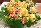 横浜市西区北幸へバラの花束を即日当日配達させていただきました。【横浜花屋の花束・スタンド花・胡蝶蘭・バルーン・アレンジメント配達事例671】
