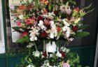 横浜市関内へアレンジメントを即日当日配達させていただきました。【横浜花屋の花束・スタンド花・胡蝶蘭・バルーン・アレンジメント配達事例676】