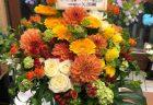 横浜市北仲通へアレンジメントを即日当日配達させていただきました。【横浜花屋の花束・スタンド花・胡蝶蘭・バルーン・アレンジメント配達事例673】