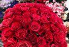 横浜市港北区へディスプレイフラワーを配達しました。【横浜花屋の花束・スタンド花・胡蝶蘭・バルーン・アレンジメント配達事例701】