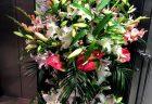 横浜市磯子区岡村へフラワーアレンジメントを即日当日配達しました。【横浜花屋の花束・スタンド花・胡蝶蘭・バルーン・アレンジメント配達事例716】