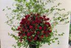横浜市保土ヶ谷区へバルーンスタンド花を配達しました。【横浜花屋の花束・スタンド花・胡蝶蘭・バルーン・アレンジメント配達事例712】