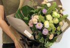 横浜市みなとみらいへ胡蝶蘭を即日当日配達しました。【横浜花屋の花束・スタンド花・胡蝶蘭・バルーン・アレンジメント配達事例732】
