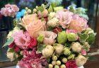 横浜市みなとみらいへスタンド花を即日当日配達しました。【横浜花屋の花束・スタンド花・胡蝶蘭・バルーン・アレンジメント配達事例796】