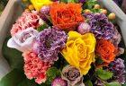横浜市南区へスタンド花を即日当日配達しました。【横浜花屋の花束・スタンド花・胡蝶蘭・バルーン・アレンジメント配達事例802】