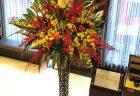 2020年11月6日 結婚式で使用する生花のご注文を多く頂いております。