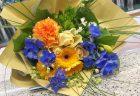 横浜市関内へ花束(ブーケタイプ)を即日当日配達しました。【横浜花屋の花束・スタンド花・胡蝶蘭・バルーン・アレンジメント配達事例852】