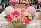 横浜市山下町へバラの花束を即日当日配達しました。【横浜花屋の花束・スタンド花・胡蝶蘭・バルーン・アレンジメント配達事例840】