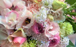 横浜市関内へ花束(ブーケタイプ)を即日当日配達しました。【横浜花屋の花束・スタンド花・胡蝶蘭・バルーン・アレンジメント配達事例838】