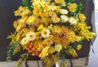横浜市西区南幸へフラワーアレンジメントを配達しました。【横浜花屋の花束・スタンド花・胡蝶蘭・バルーン・アレンジメント配達事例867】