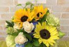 横浜関内ホールへスタンド花を配達しました。【横浜花屋の花束・スタンド花・胡蝶蘭・バルーン・アレンジメント配達事例919】