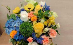 全国向け商品を配送しました。【横浜花屋の花束・スタンド花・胡蝶蘭・バルーン・アレンジメント配達事例932】