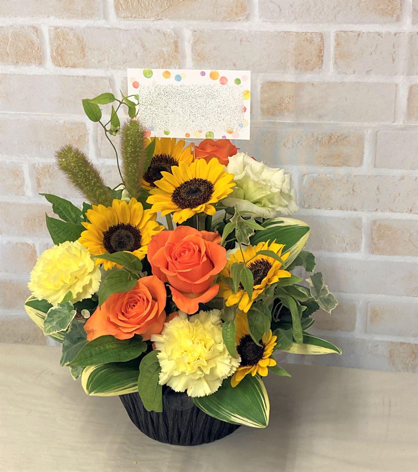 横浜スーパー・ファクトリーへ花束と楽屋花を配達しました。【横浜花屋の花束・スタンド花・胡蝶蘭・バルーン・アレンジメント配達事例937】